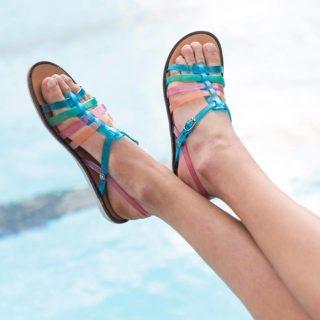 Méduse sandales