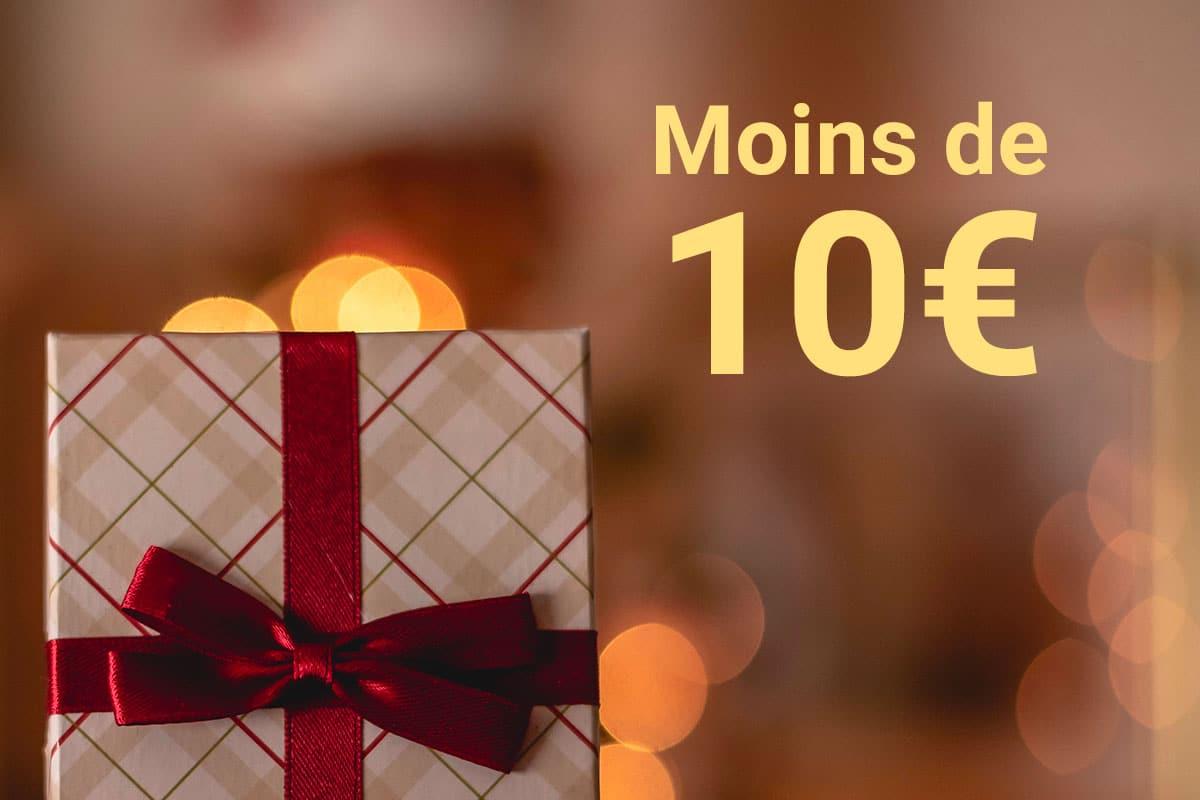 Nos idées de cadeaux de Noël made in France (budget de moins de 10