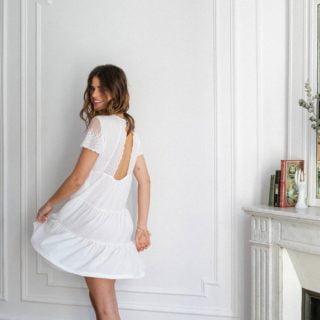 Opullence la robe blanche