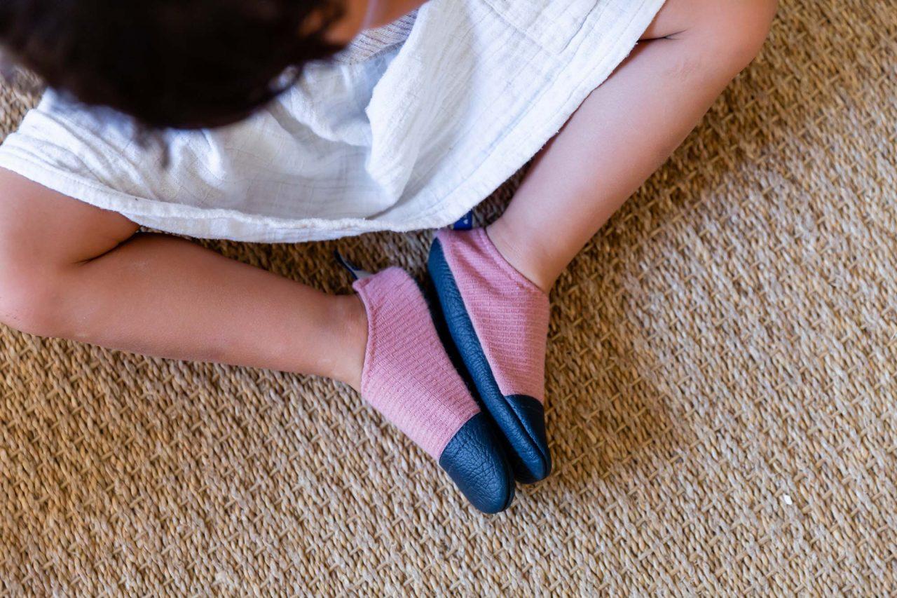 Les chaussons souples pour enfants Les Pas Petits